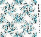 oriental geometric seamless... | Shutterstock .eps vector #575577373