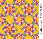 oriental geometric seamless... | Shutterstock .eps vector #575577427