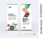 abstract business vector set of ... | Shutterstock .eps vector #575659567