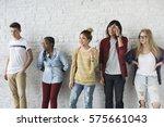 studio people shoot portrait... | Shutterstock . vector #575661043