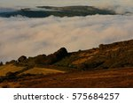 Low Cloud Over Rolling Hills