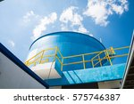 water treatment process and... | Shutterstock . vector #575746387