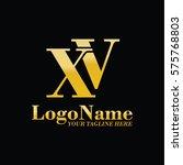 xv logo | Shutterstock .eps vector #575768803