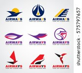 airway logo  bird and airplane...