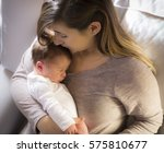 mom and baby   Shutterstock . vector #575810677
