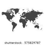 world map vector illustration | Shutterstock .eps vector #575829787