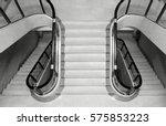 interior stairs | Shutterstock . vector #575853223