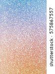 light blue  yellow christmas... | Shutterstock . vector #575867557