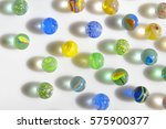 Macro Marble Balls With...