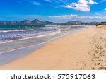 beautiful view of the sand... | Shutterstock . vector #575917063