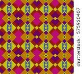 ethnic boho pattern  bright... | Shutterstock .eps vector #575930407