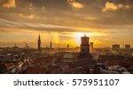 Sunset In Copenhagen. The...