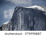 zoom on half dome in the... | Shutterstock . vector #575990887