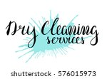 dry cleaning service  vector...   Shutterstock .eps vector #576015973