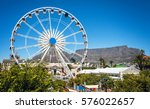 at the waterfront in cape town... | Shutterstock . vector #576022657
