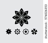flower   Shutterstock .eps vector #576026353