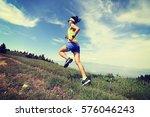 Healthy Lifestyle Woman Trail...