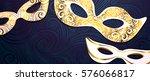 realistic carnival mask  for... | Shutterstock .eps vector #576066817
