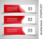 set of banner templates. ...   Shutterstock .eps vector #576091357