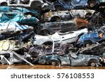 Junk Cars Crushed And Ready Fo...