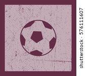 soccer ball. icon. | Shutterstock .eps vector #576111607