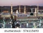 medina  kingdom of saudi arabia ... | Shutterstock . vector #576115693