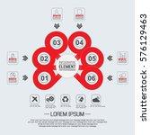 element for infographic ...   Shutterstock .eps vector #576129463
