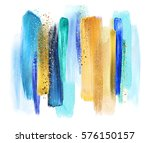 Abstract Watercolor Brush...