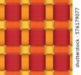 bright plastic basketwork. red... | Shutterstock . vector #576179077