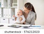 business  motherhood  multi... | Shutterstock . vector #576212023