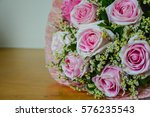 kiss me message and a pink...   Shutterstock . vector #576235543