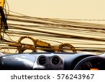 car dashboard with background | Shutterstock . vector #576243967