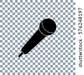 microphone vector icon... | Shutterstock .eps vector #576248197