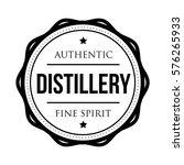 distillery vintage logo stamp | Shutterstock .eps vector #576265933