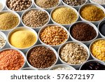 background of many grains and... | Shutterstock . vector #576272197