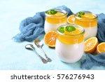 Panna Cotta With Orange Jelly...