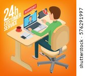 isometric image service for... | Shutterstock .eps vector #576291997