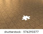 3d illustration   the puzzle... | Shutterstock . vector #576293377