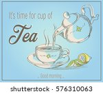 vector illustration of cup of... | Shutterstock .eps vector #576310063