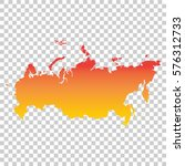 russia  russian federation map. ... | Shutterstock .eps vector #576312733
