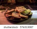 pound cake street food | Shutterstock . vector #576313087