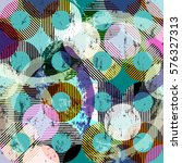 seamless pattern background ... | Shutterstock .eps vector #576327313