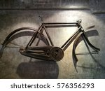 Old Bicycle Frame Hanging On...