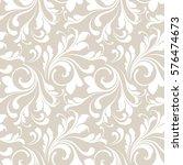 floral seamless pattern....   Shutterstock .eps vector #576474673