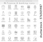 finance and banking ultra... | Shutterstock . vector #576505987