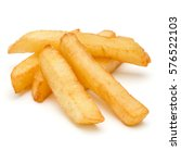 french fried potatoes isolated... | Shutterstock . vector #576522103