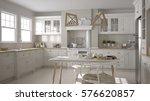 scandinavian classic white... | Shutterstock . vector #576620857