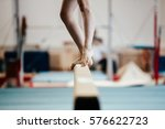 competition gymnastics... | Shutterstock . vector #576622723