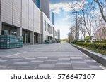modern business buildings | Shutterstock . vector #576647107