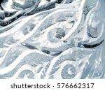 Transparent Ice Sculpture  The...
